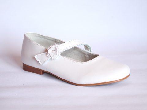 Zapato de Comunión niña Blanco.