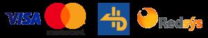 Logotipos de formas de pago TPV